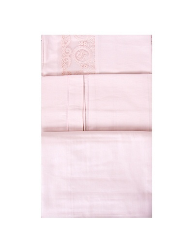 Esse Elegance Nevresim Seti Çift Kişilik 200x220cm Pudra Pudra